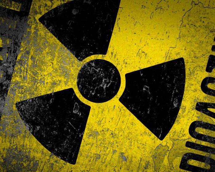 Вещества радиоактивные