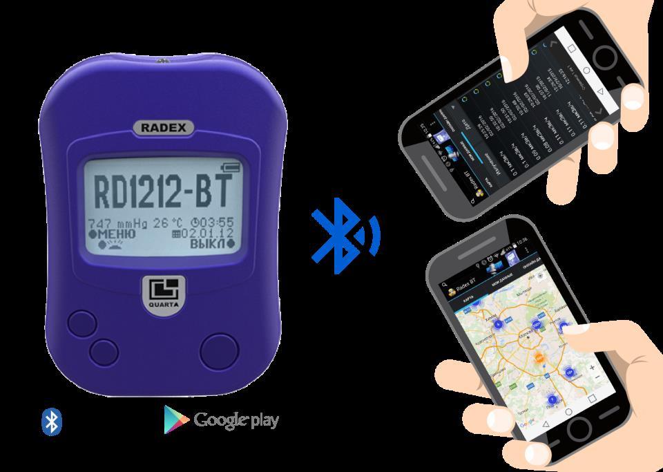 Дозиметр RADEX RD1212-BT