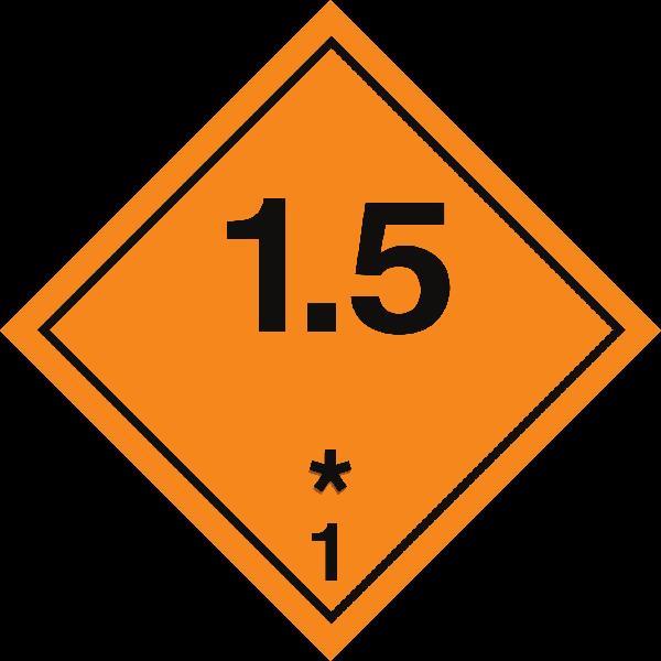 Классы опасности. Подкласс 1.5 | Справочник логиста | TRANS.RU