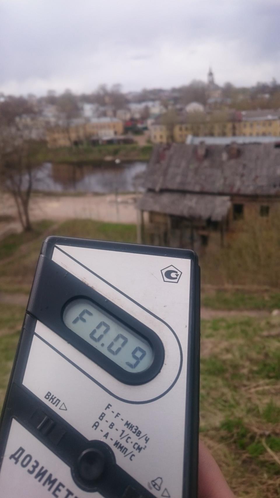 Точка измерения МЭД гамма-излучени в г. Торжок