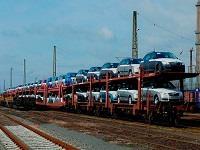 Перевозка автомобиля ЖД транспортом