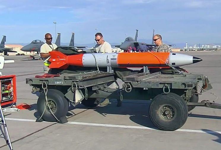Новая ядерная бомба В61-12 в США