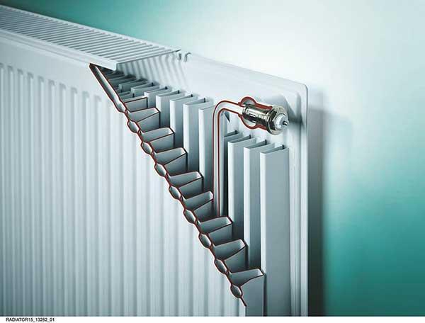 Оребрение стального панельного радиатора
