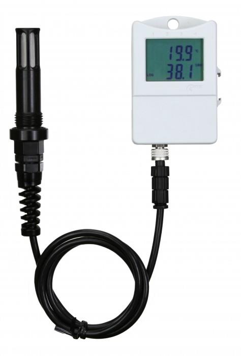 Гигрометр и термометр с функцией регистратора данных для измерений сжатого воздуха давлением до 2.5МПа. — S3121P
