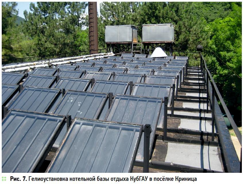 Солнечное теплоснабжение в Краснодарском крае. 10/2019. Фото 7