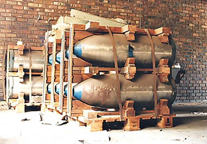 В июне 1990 года начались работы по разборке атомных бомб.