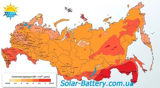Солнечная активность и инсоляция в России