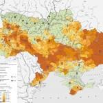 Климатическая карта Украины