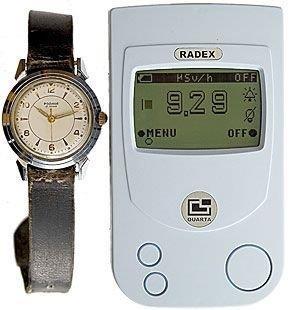 Часы «Родина» 1959 года — уровень радиации 9,29 мкЗв/ч, ими ежедневно пользовались до 2000 года.