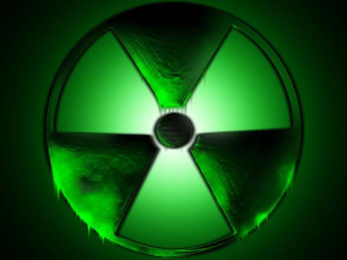 радиоактивно опасные вещества
