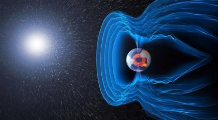 картинка магнитного поля Земли