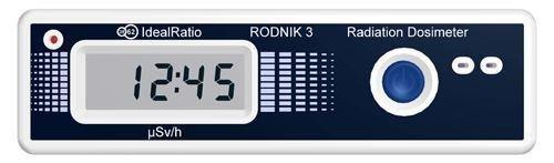 """Дозиметр """"Родник 3"""" является одним из самых компактных измерителей радиации на рынке"""