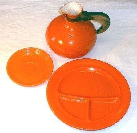 Посуда 1930х-1940х годов. Радиоактивная глазурь для покрытия керамики была необычайно популярна в это время — 15 мкЗв/ч.