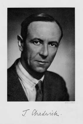 Photo by Bortzells Esselte, Nobel Foundation, courtesy AIP Emilio Segre Visual Archives, Weber and Fermi Film Collections ДЖЕЙМС ЧЕДВИК