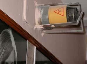 Радиоактивный датчик пожарной сигнализации