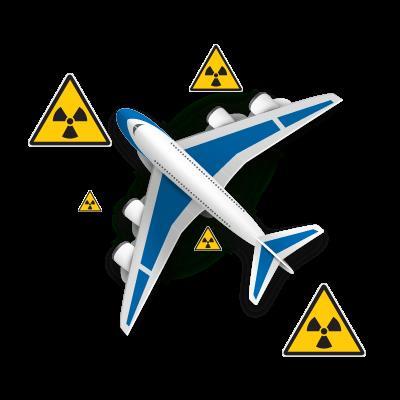 радиация в самолёте